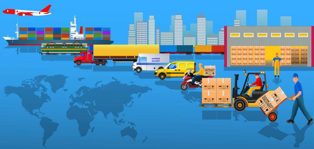 supply chain logistics explained